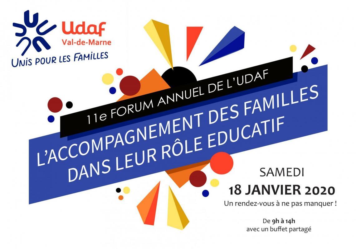 Invitation 11e forum udaf94 recto verso page 1
