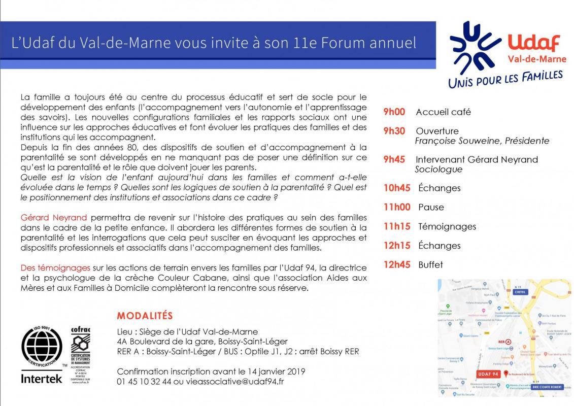 Invitation 11e forum udaf94 recto verso page 4